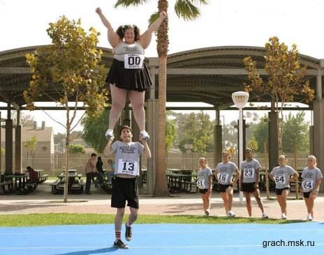 Гимнастика - это сила!
